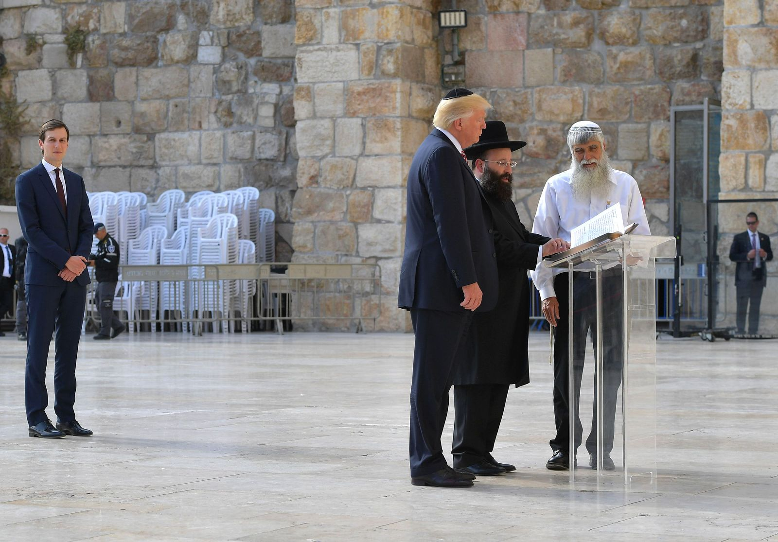 Jared Kushner in Jerusalem