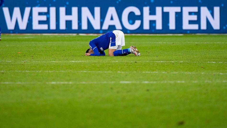 Schalkes Spieler Ahmed Kutucu: Schlechte Laune vor Weihnachten