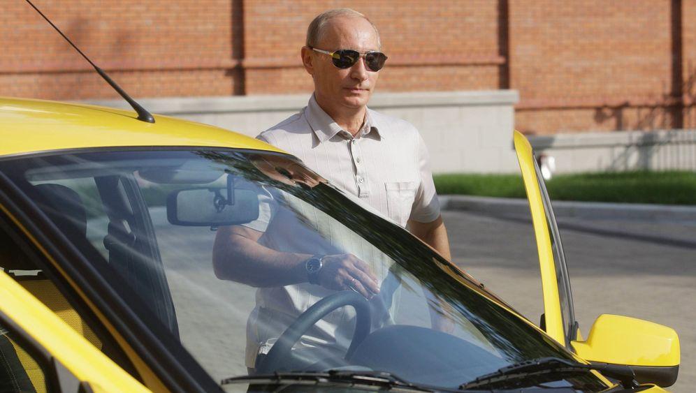 Fernfahrer Putin: 2500 Kilometer Sibirien im Lada