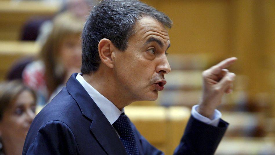Spaniens Ministerpräsident Zapatero: 99,99 Prozent der Bürger seien nicht betroffen