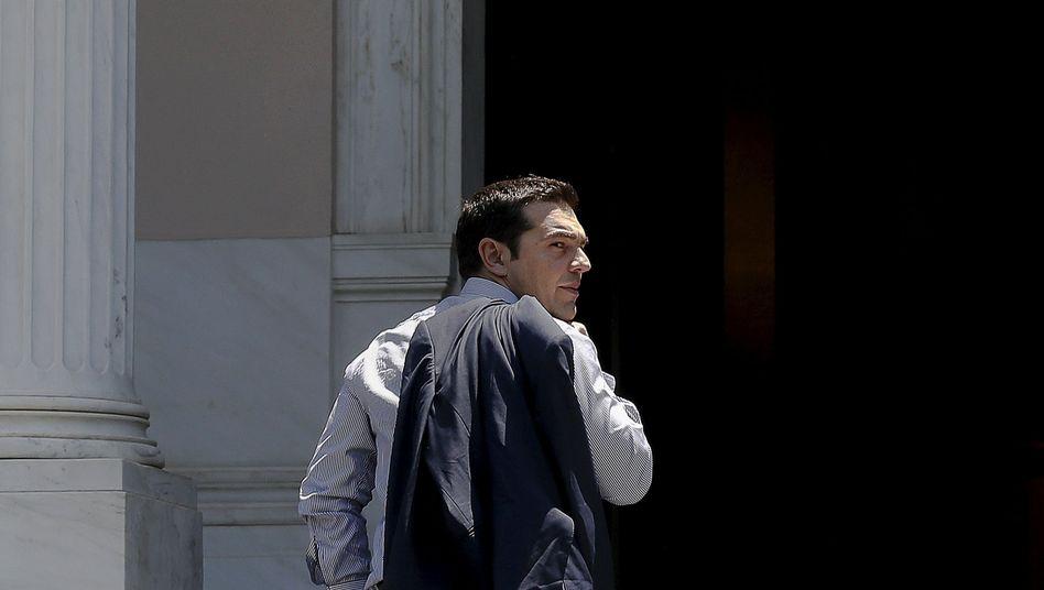Griechischer Ministerpräsident Tsipras: Doch noch ein Kompromissvorschlag?