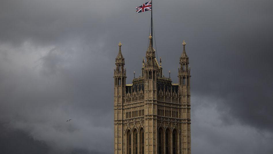 Dunkle Wolken über London (Symbolbild)