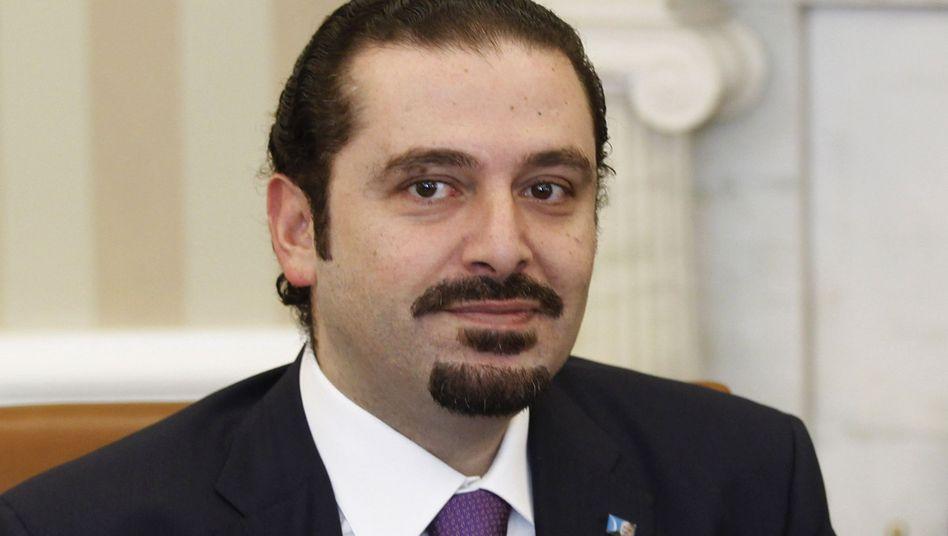 Regierungschef Saad al-Hariri: Streit mit der Hisbollah