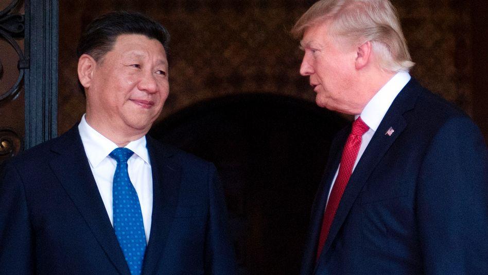 Präsidenten Xi, Trump (Archiv)