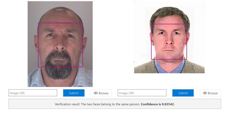 Facial recognition software found close matches between photos of Krasikov and Solokov.
