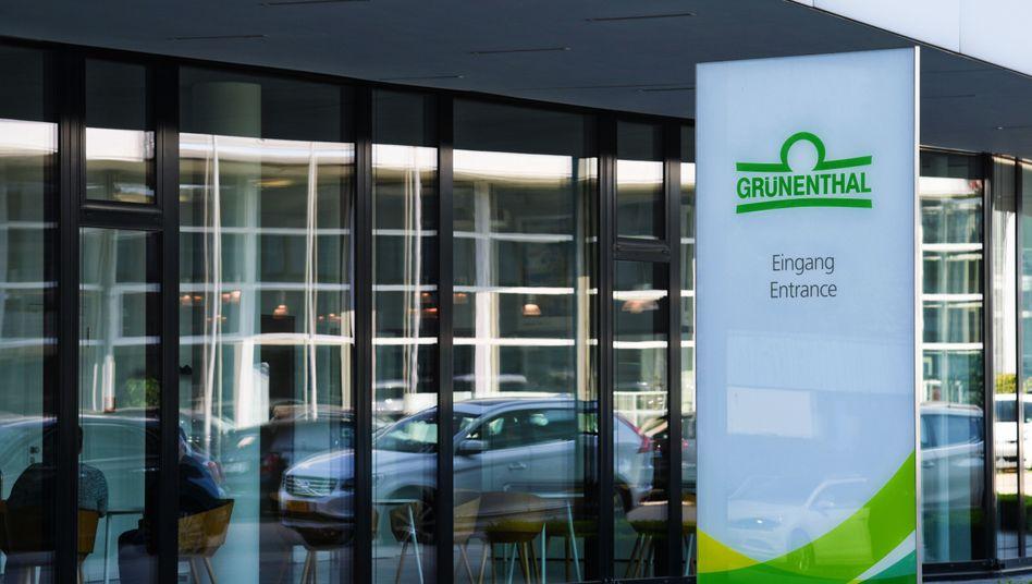 """Pharmaunternehmen Grünenthal: """"Keine Veranlassung, an dieser Bewertung zu zweifeln"""""""