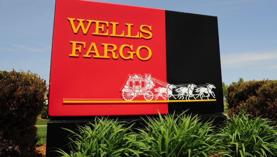 Wells Fargo in Woodbury, Minnesota: Was der Kutscher wohl verbrochen hatte...