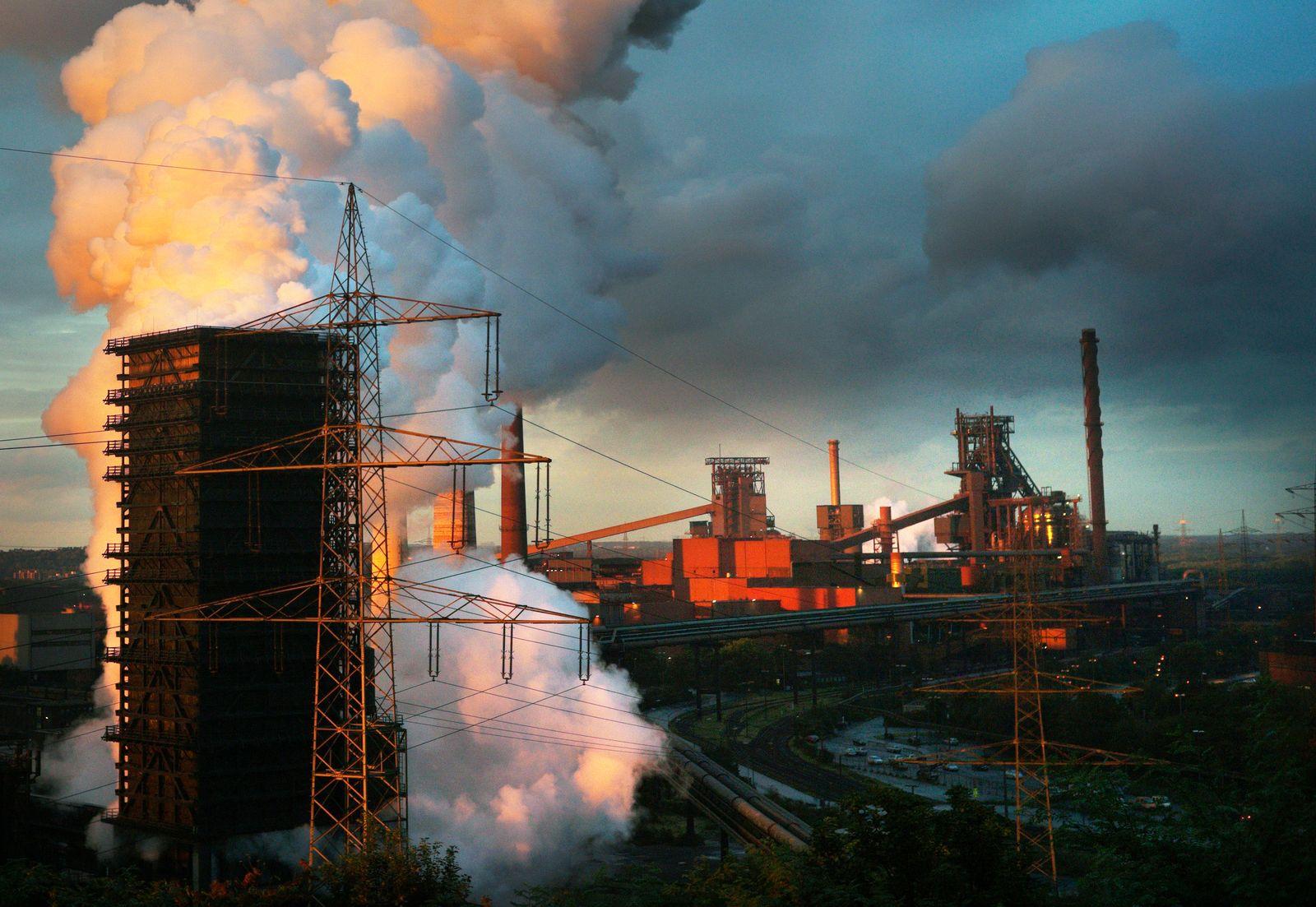 Deutschland / Konjunktur / ThyssenKrupp / Stahlwerk