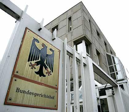 """Bundesgerichtshof (BGH) in Karlsruhe: """"Fast jeder Richter mit Nebentätigkeit"""""""