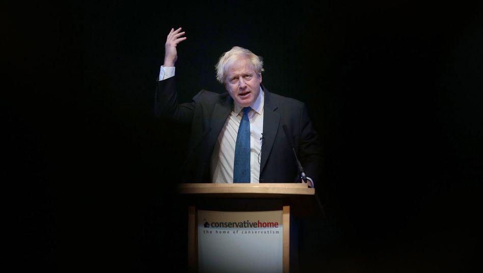 Tory-Politiker Boris Johnson