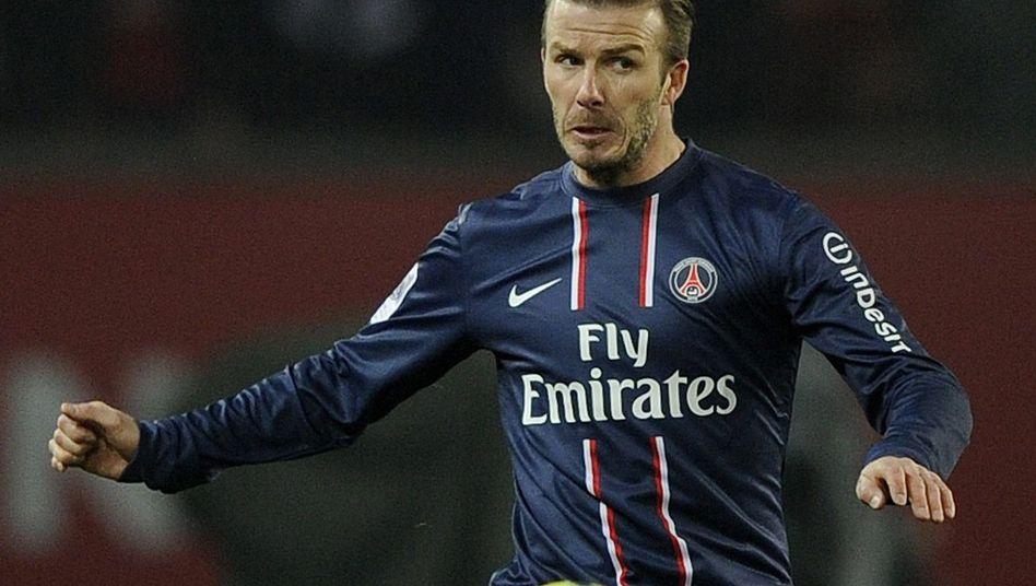 """PSG-Star Beckham: """"Wer möchte nicht bei so einem Verein bleiben?"""""""