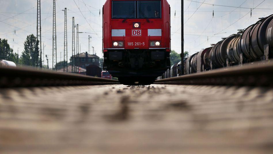 Güterzug: Die Deutsche Bahn gehört zu den großen Subventionsempfängern