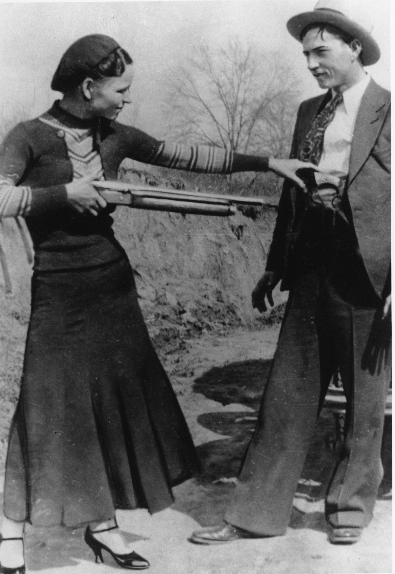 Bonnie und Clyde: Legendäres Gangster-Paar - DER SPIEGEL