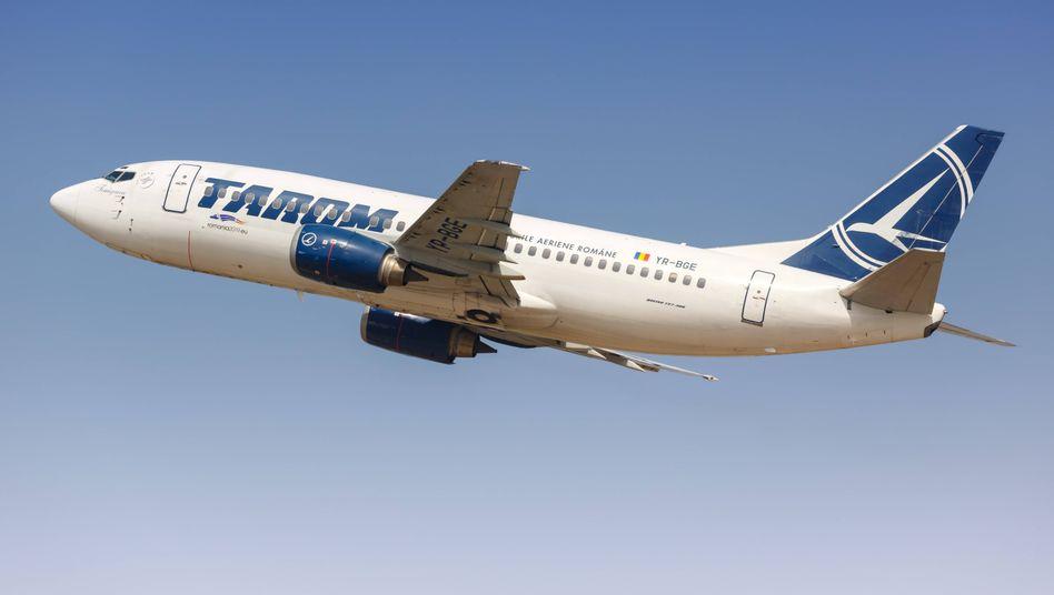 Boeing 737-300 der rumänischen Fluggesellschaft Tarom