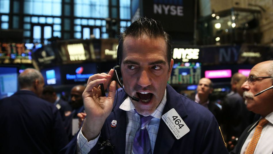 "Aktienhändler in New York: ""Kaskade des Versagens"""
