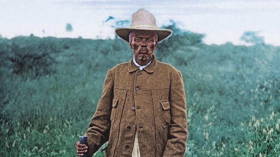 Nama-Kaptein Witbooi um 1900: »Als ob die Deutschen das Land selbst nehmen möchten«