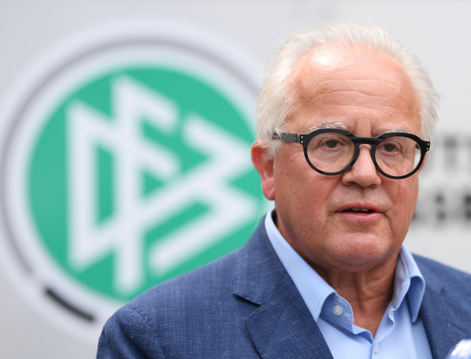 DFB-Präsident Keller «unzufrieden» mit Einjahresbilanz