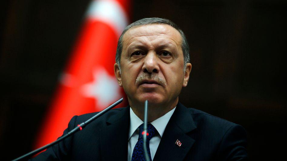 Türkischer Präsident Recep Tayyip Erdogan: Sieht HDP als politischen Arm der PKK
