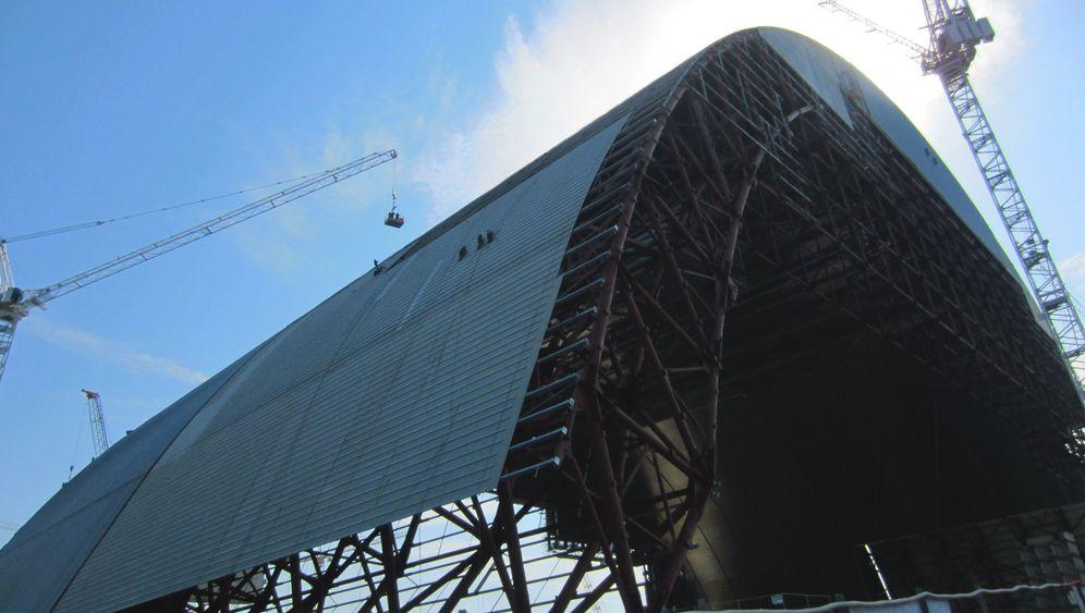 Tschernobyl: Eine Hülle für die AKW-Ruine