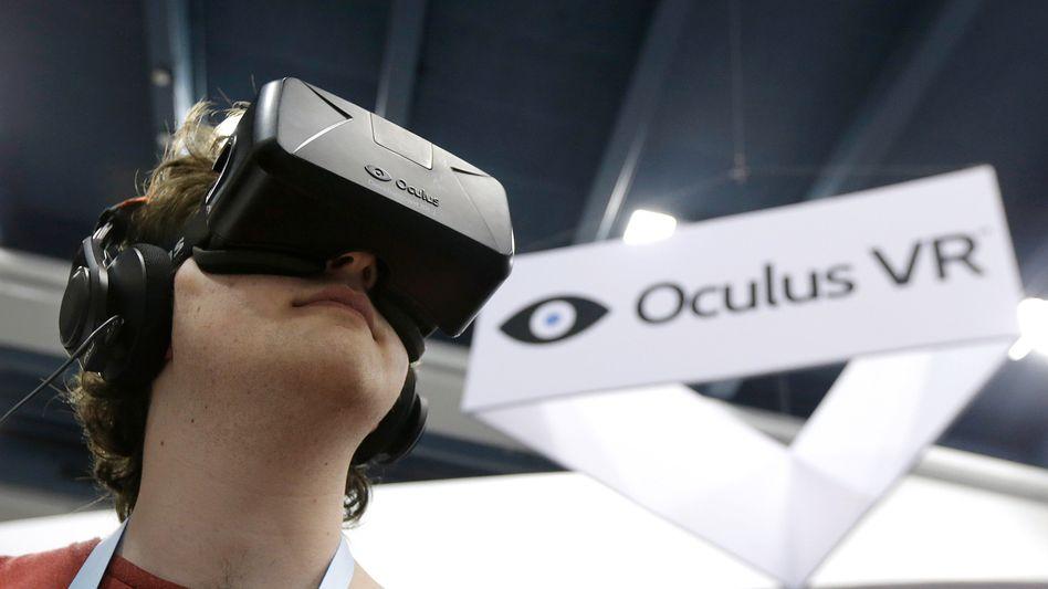 Virtual-Reality-Brille von Oculus: Das Unmögliche erleben