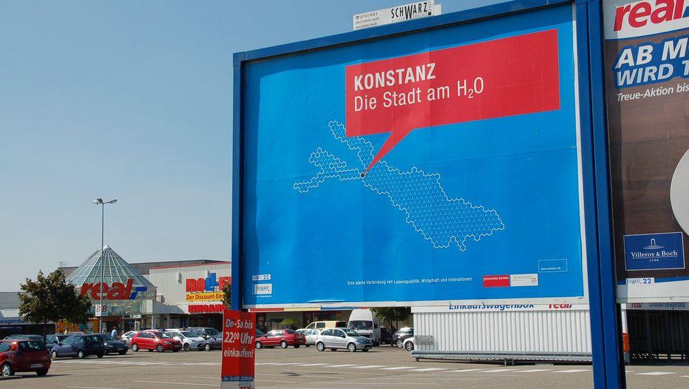 Plakatwerbung: Falsche Formeln im Bodensee