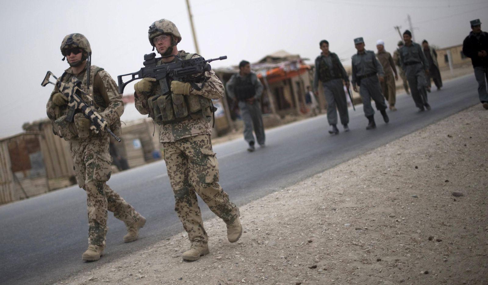 NICHT VERWENDEN Bundeswehreinsatz in Kunduz
