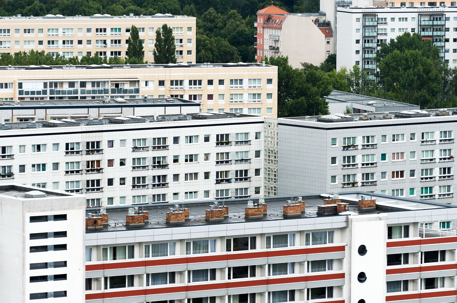 Mietshäuser in Berlin