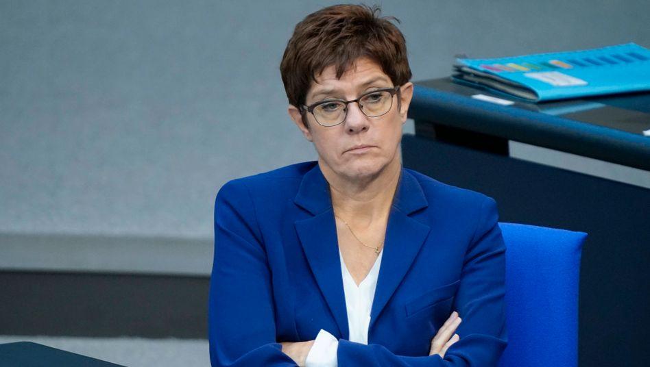 CDU-Chefin Kramp-Karrenbauer: Eine Frage der Haltung