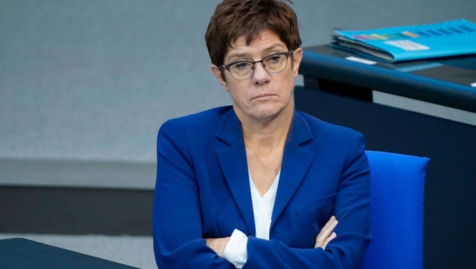 Noch ist sie die Chefin: Annegret Kramp-Karrenbauer