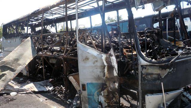 Ausgebrannter Reisebus in Bulgarien: Suche nach Verantwortlichen geht weiter