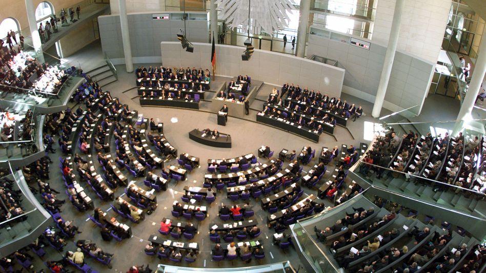 """Sitzung im Bundestag: """"ganz unglückliche Situation"""""""