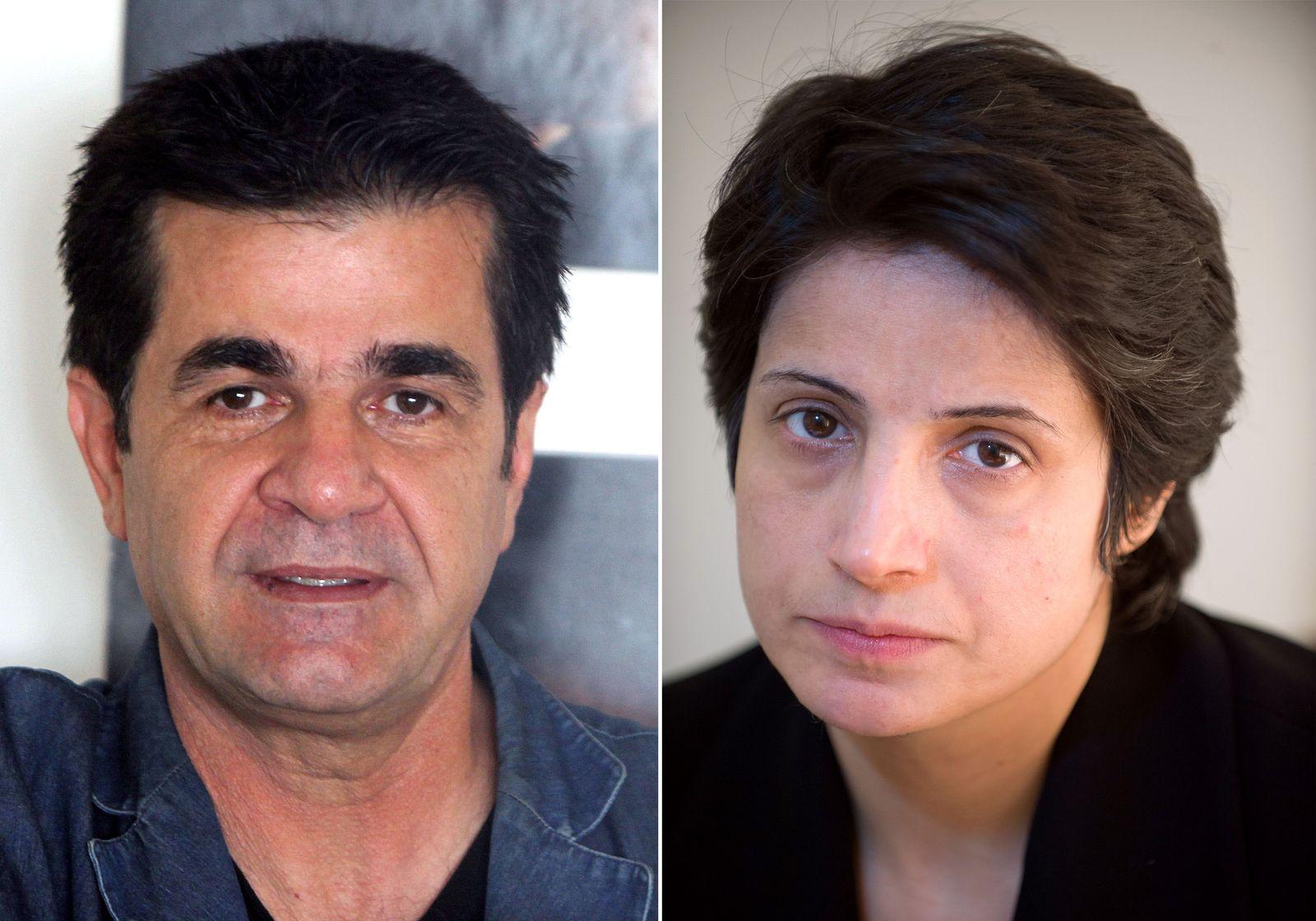 Jafar Panahi und Nasrin Sotoudeh