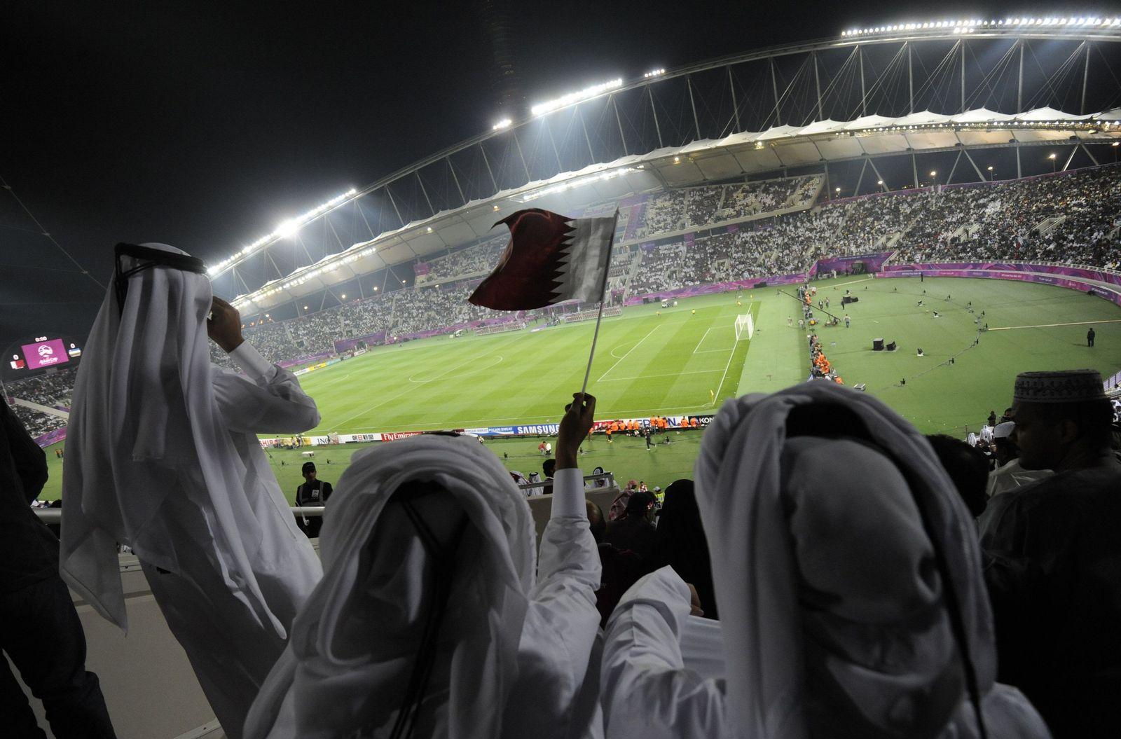 Fans Katar