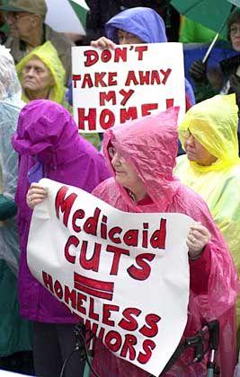 """Rentnerproteste in Oregon: """"Es gibt keine schmerzlosen Optionen"""""""
