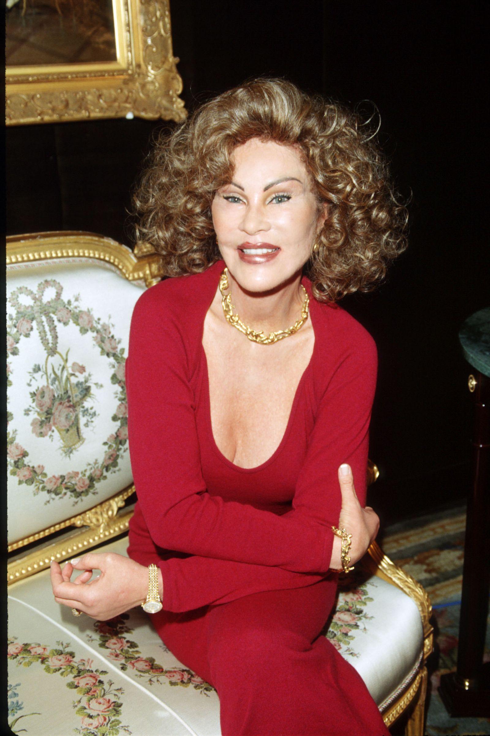 Jocelyne Wildenstein At Home In New York City