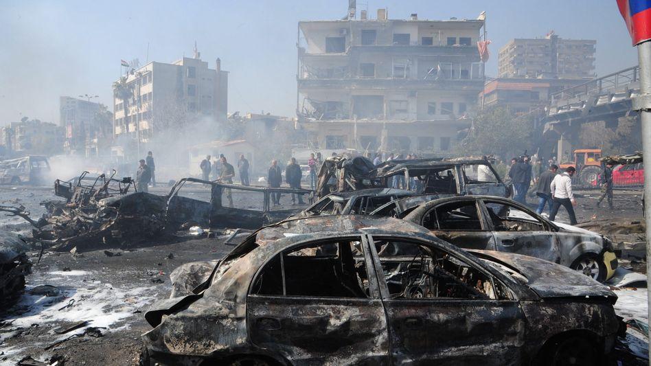 Kriegsschäden in Damaskus: Konferenz soll Frieden bringen