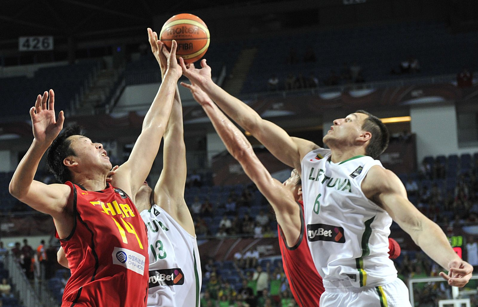 China Litauen Basketball-WM