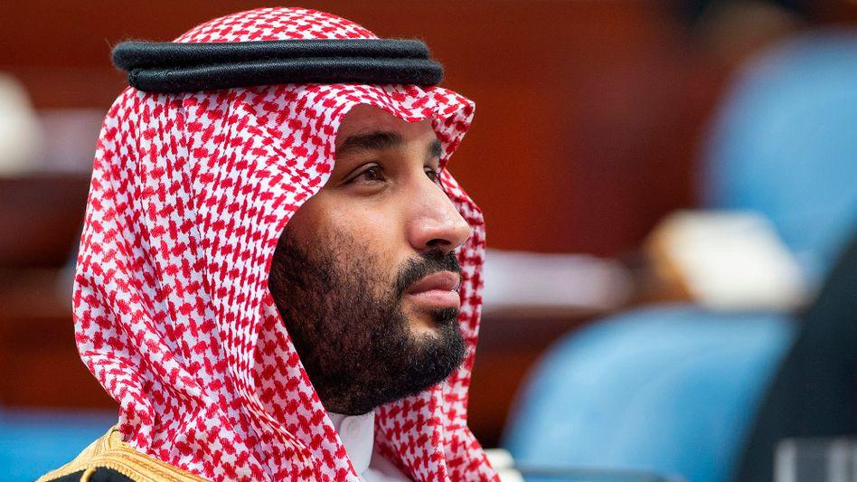 Saudi-Arabiens Kronprinz Mohammed bin Salman: Keine andere Wahl, als mit dem Rivalen zu verhandeln