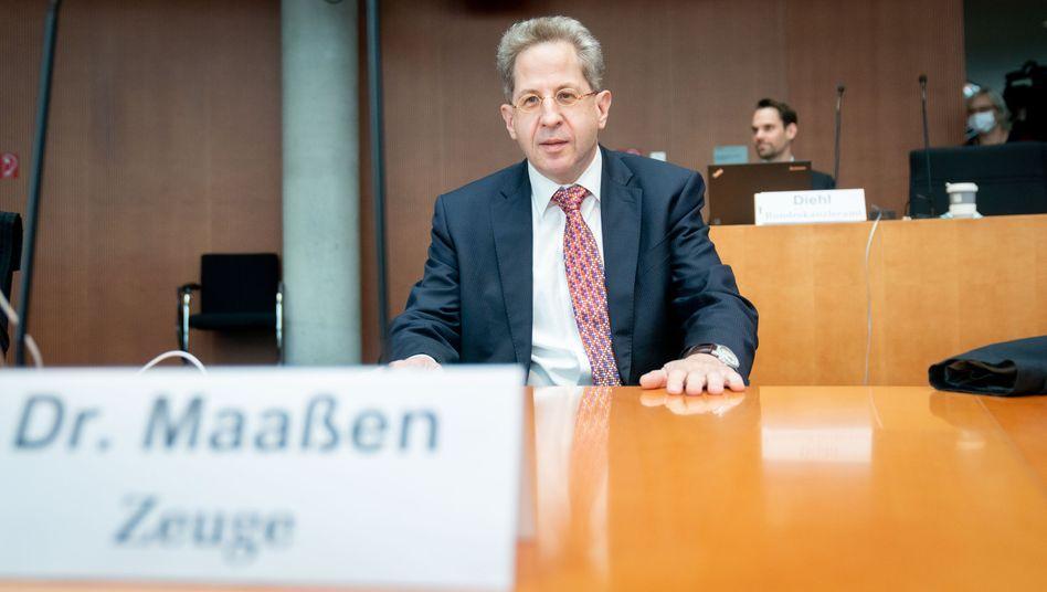 """Hans-George Maaßen: """"Die Opfer könnten heute noch leben, wenn man damals anders gehandelt hätte"""""""