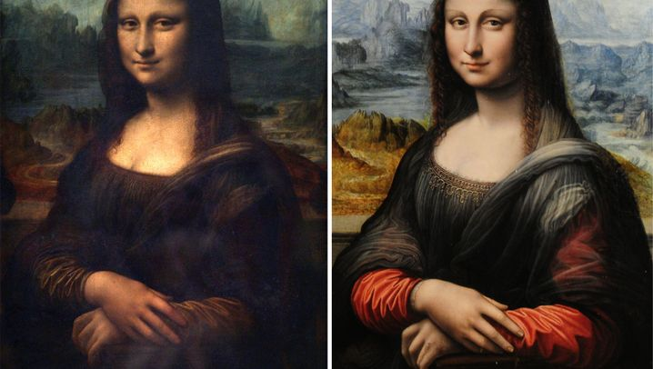 Mona Lisas Double: Original und Kopie