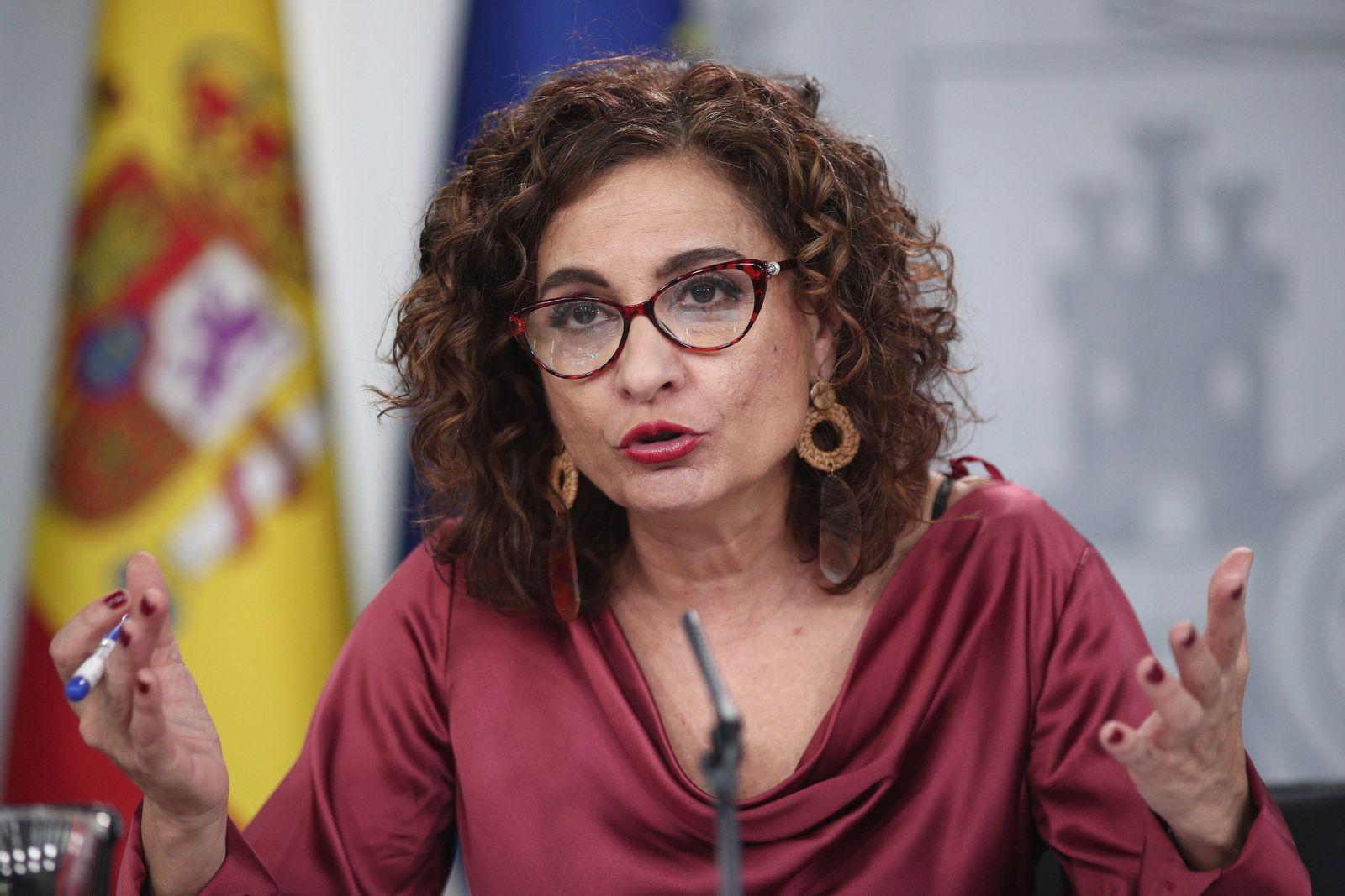 Kabinettssitzung der spanischen Regierung