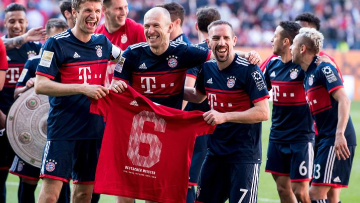 Deutscher Meister: Die Momente der Bayern-Saison