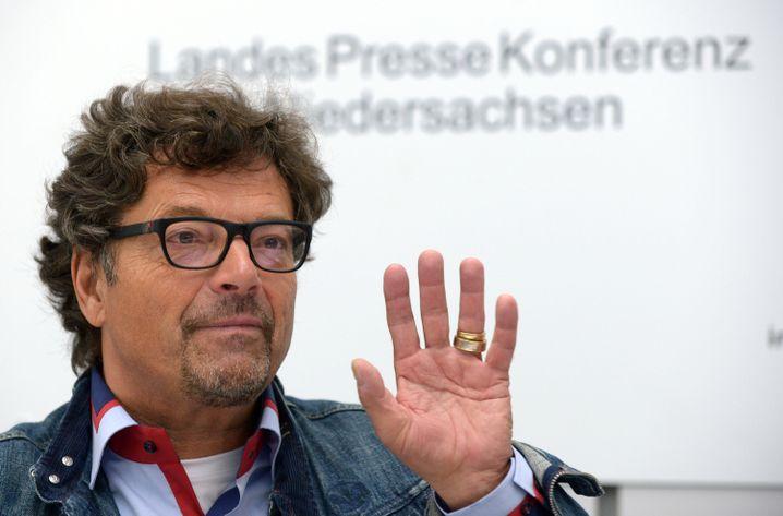"""Dieter Dehm (Archiv): """"Das ist ein feinsinniger Mensch und überhaupt kein radikaler Scharfmacher"""""""