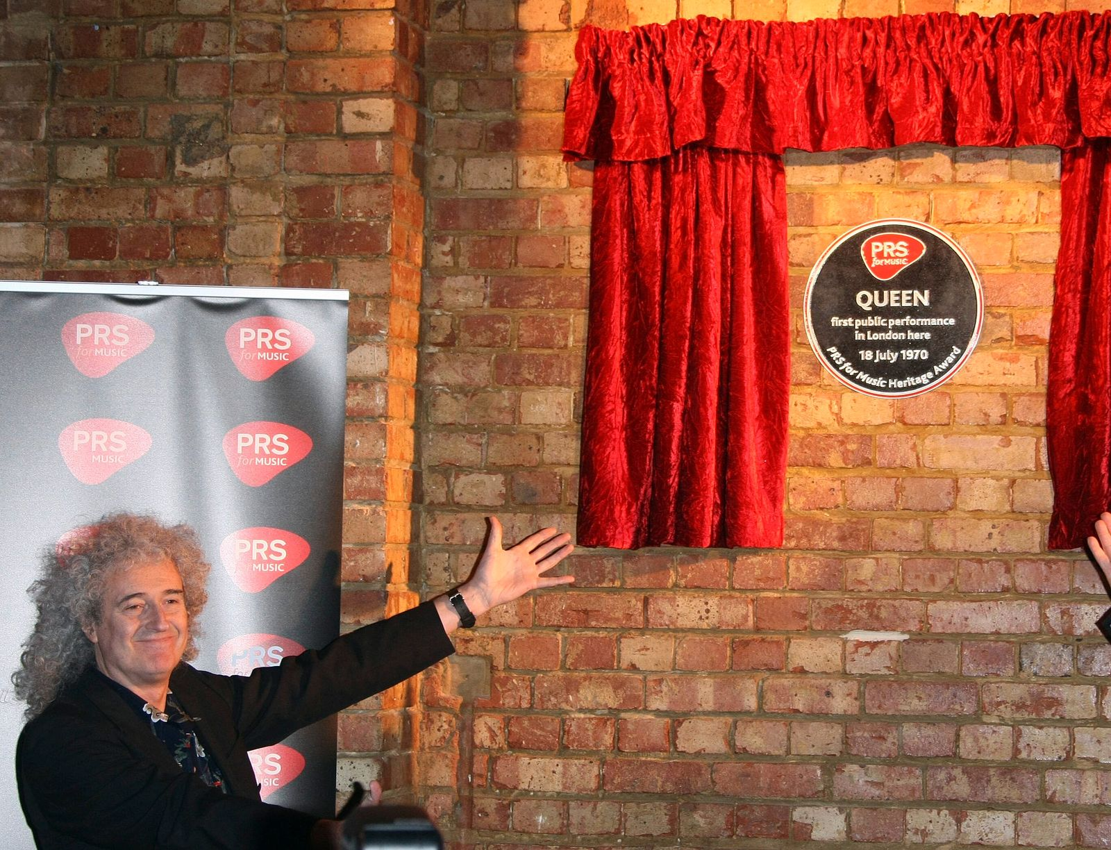 Brian May Member Of Queen Prs For Music Honours Queen With A Heritage Award Imperial College, London, , UK 05 March 2013