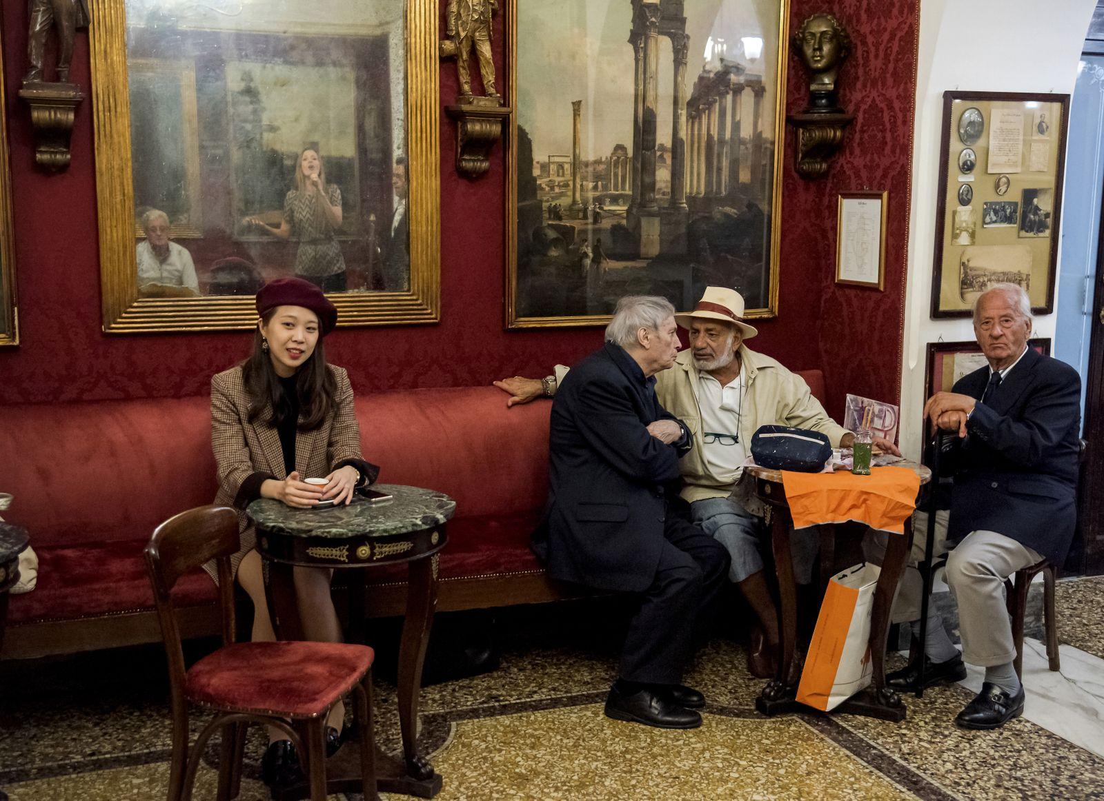 EINMALIGE VERWENDUNG Antico Caffe Greco/ Rom