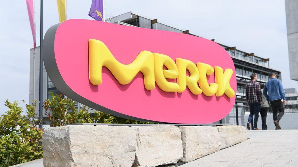 Merck-Stammwerk in Darmstadt