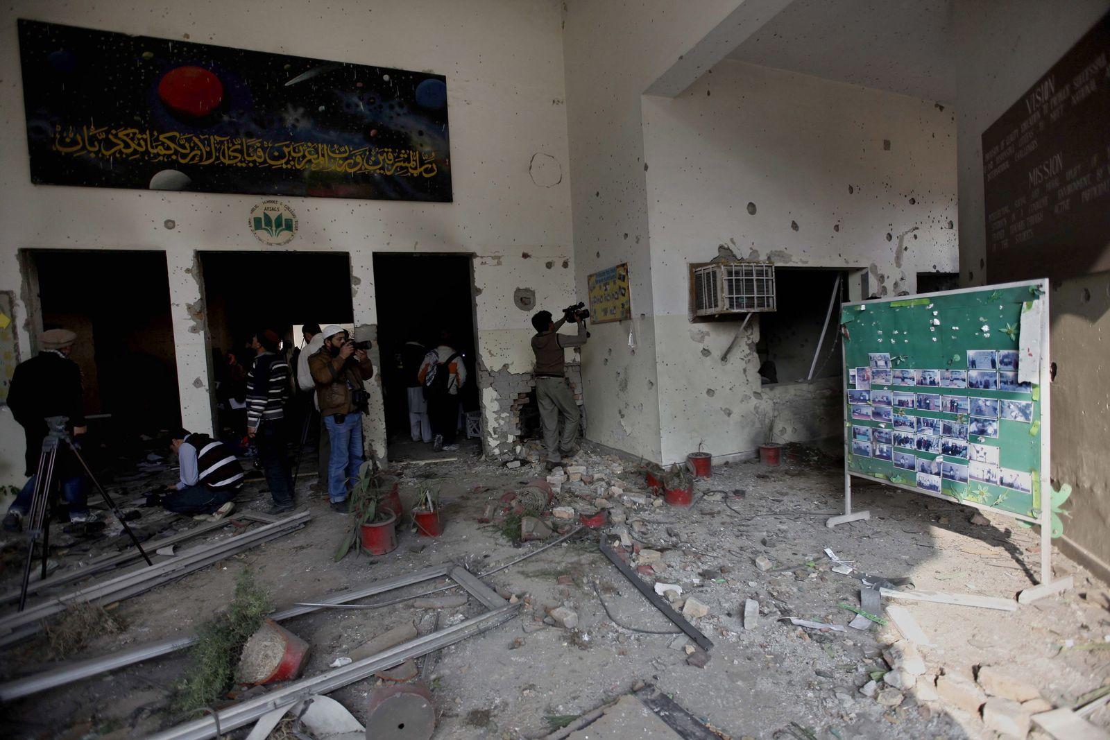 Pakistan/ Peschawar/ Massaker/ Schule/ Trauer