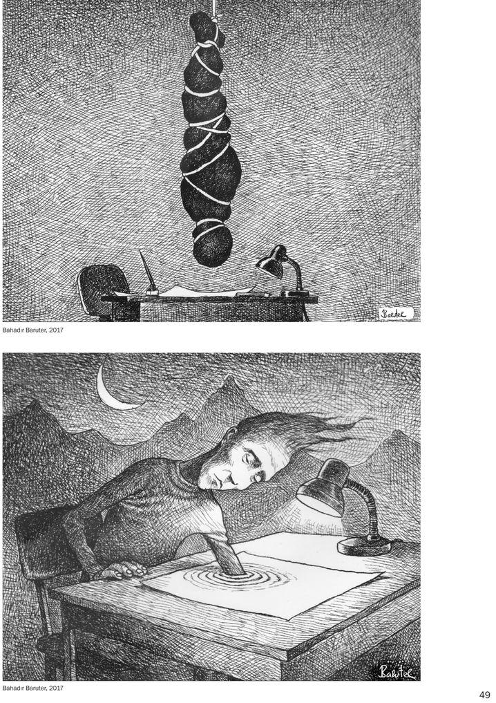 """Karikatur aus """"Schluss mit lustig"""""""