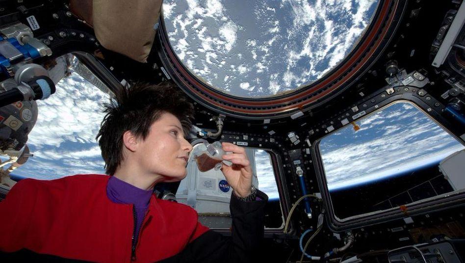 Samantha Cristoforetti: Der erste Espresso im All