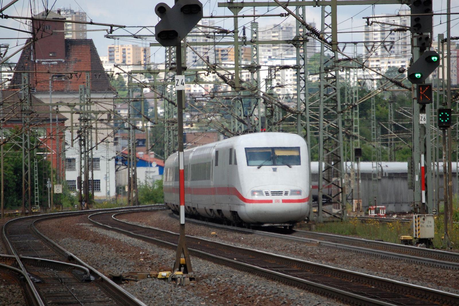 Bahnstrecke Frankfurt - Fulda